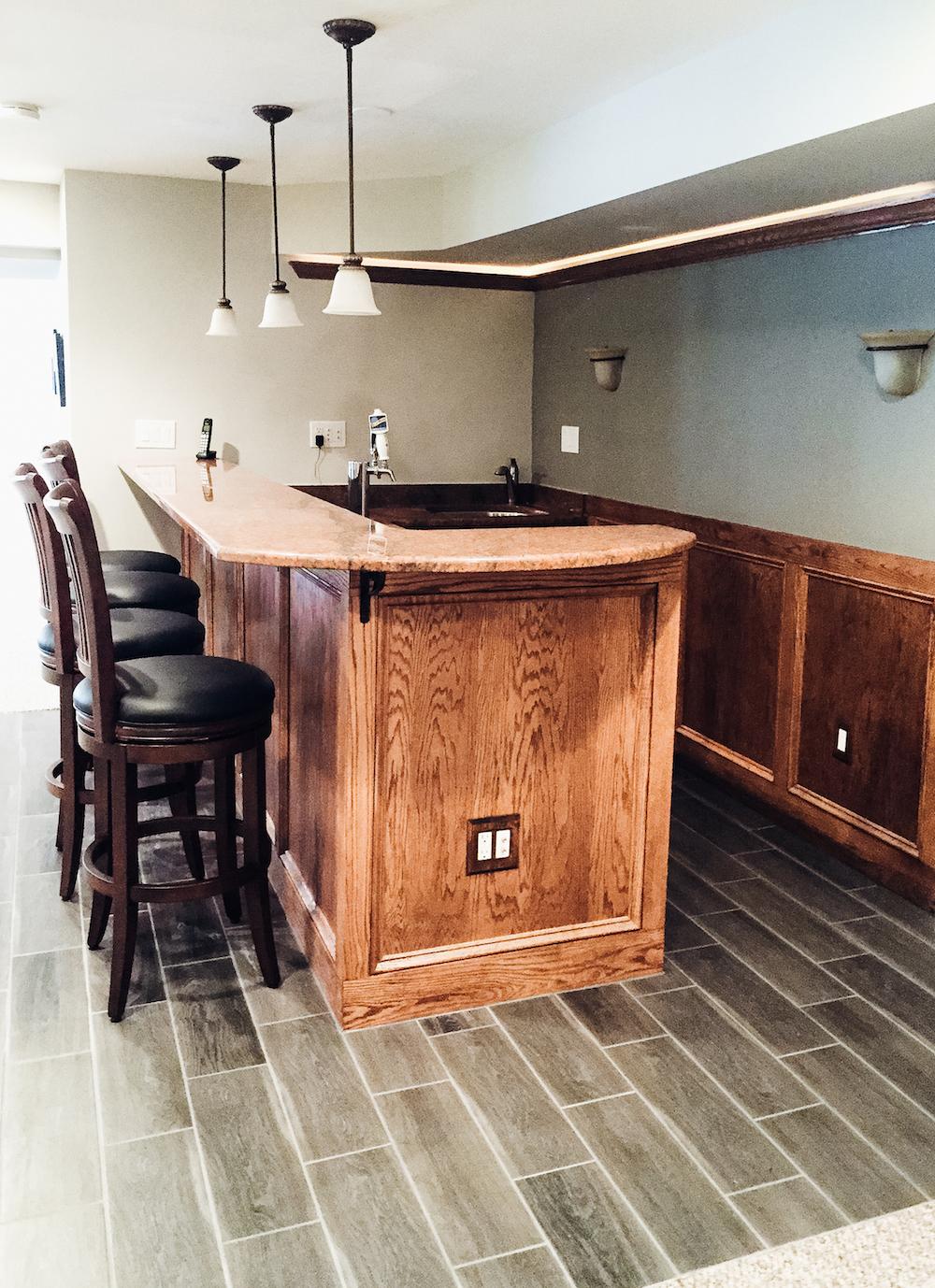 basement remodel loudoun county