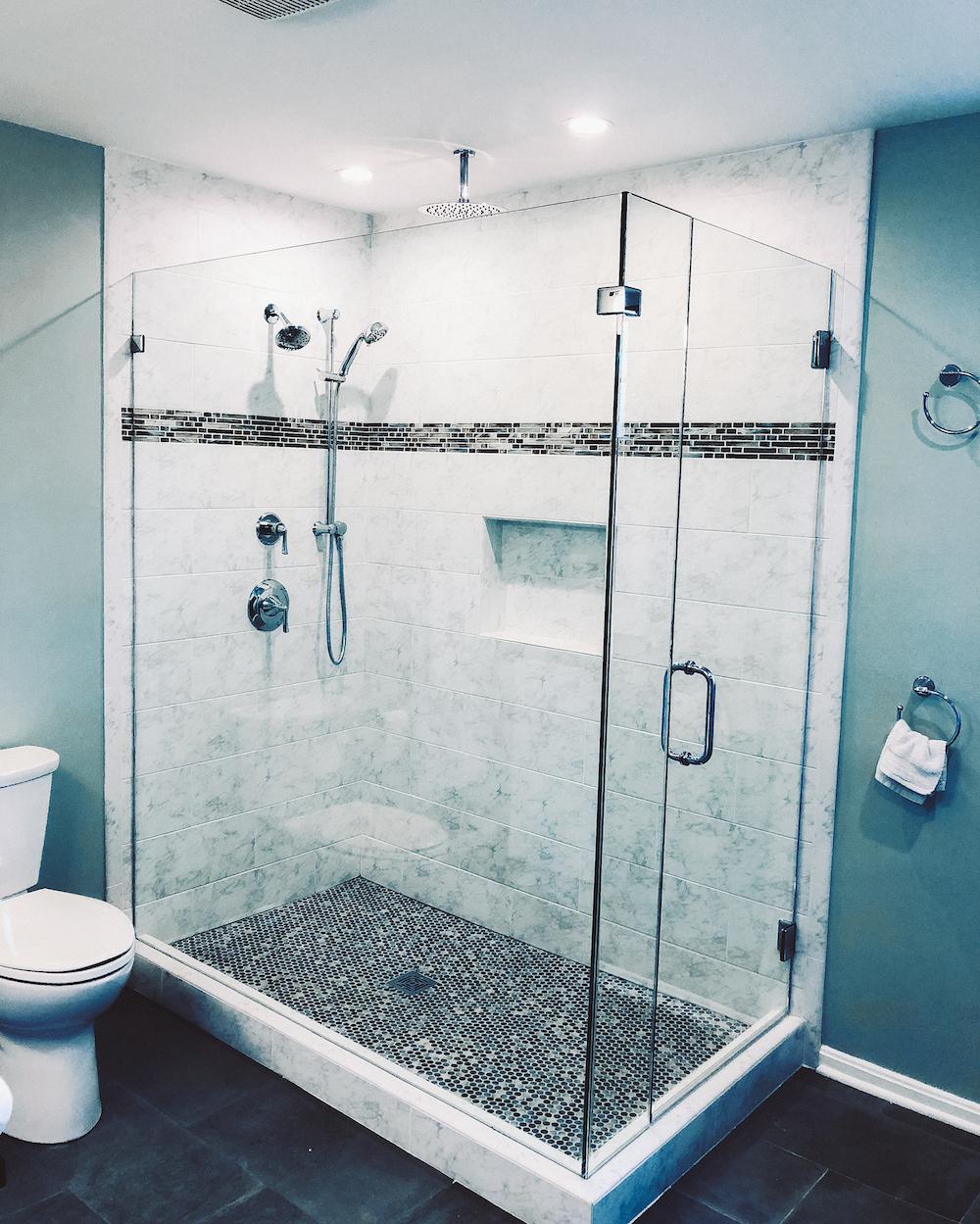Bathroom remodel herndon