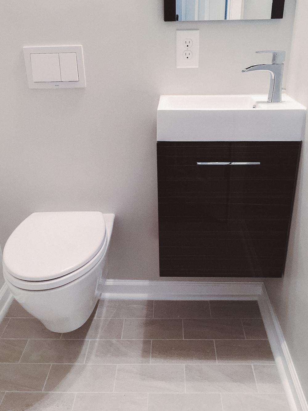 Modern Bathroom remodel herndon