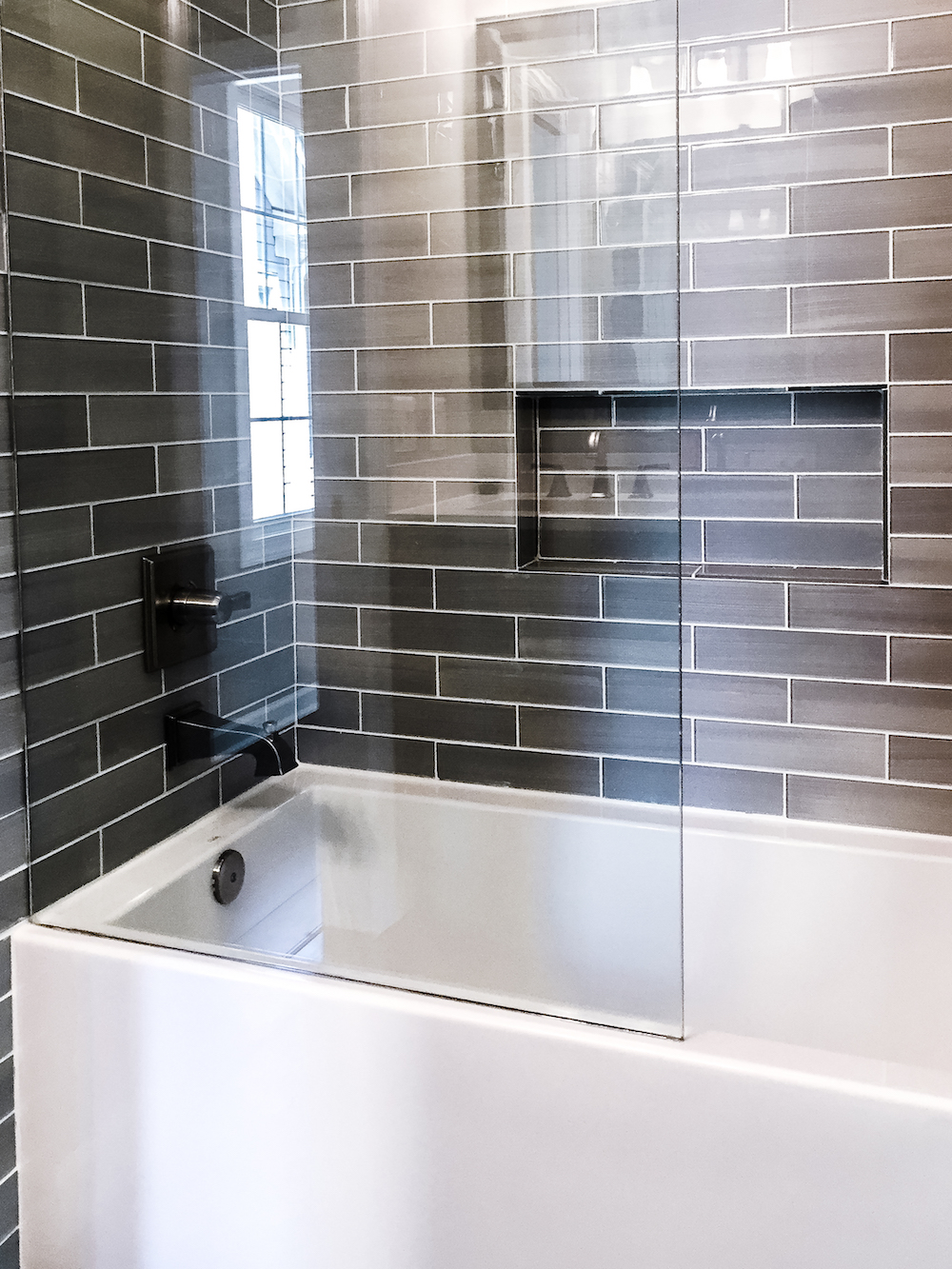 modern Bathroom remodel fairfax county