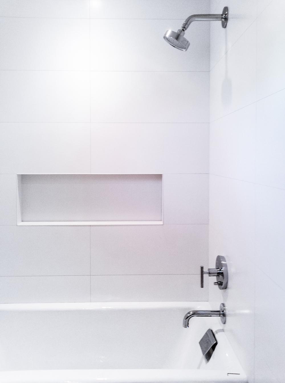 Tiled shower installation virginia